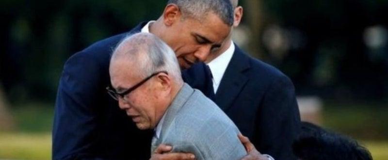 オバマ被爆者