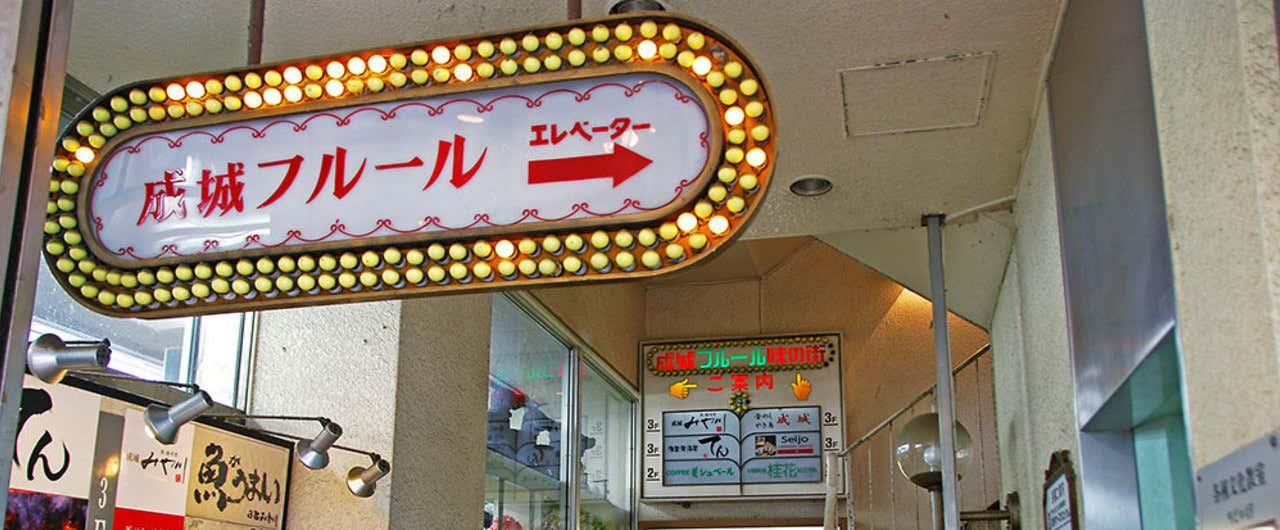 01_12東京都世田谷区_小田急線成城学園前駅と成城フルール037re