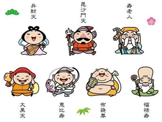神様 七福神 日本 の
