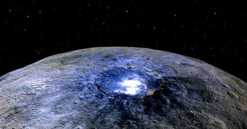 火星と木星の間にある準惑星ケレスの地下に「海」が広がっている可能性 ...