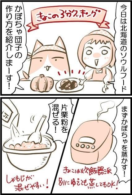 の 作り方 団子 かぼちゃ かぼちゃの煮物のレシピ/作り方:白ごはん.com