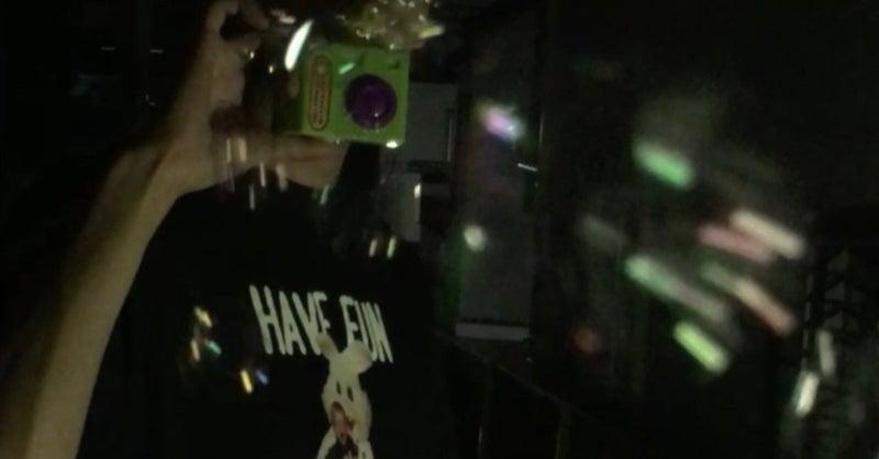 い エモ シャボン 写真 玉 今流行りエモいphoto!夜のシャボン玉撮影会