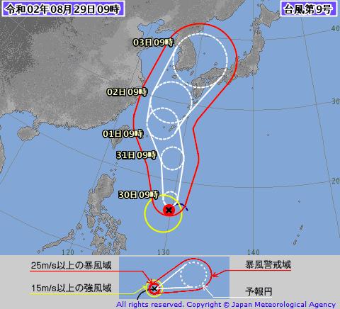 九州北部に大きな被害を与えた台風 tenkiguma (隈 健一) note