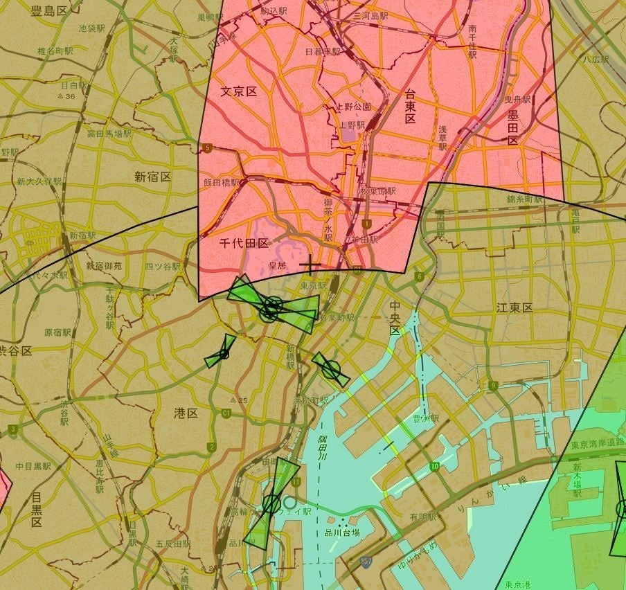 首都圏国土地理院地図
