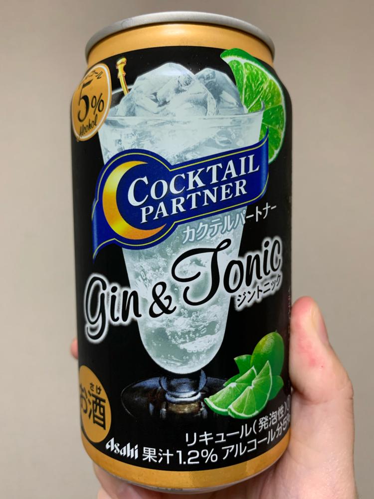 缶 ジン トニック