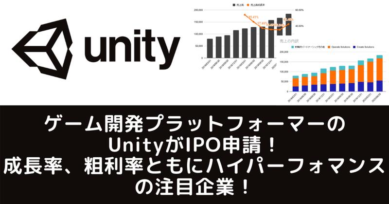 株価 ユニティ ソフトウェア