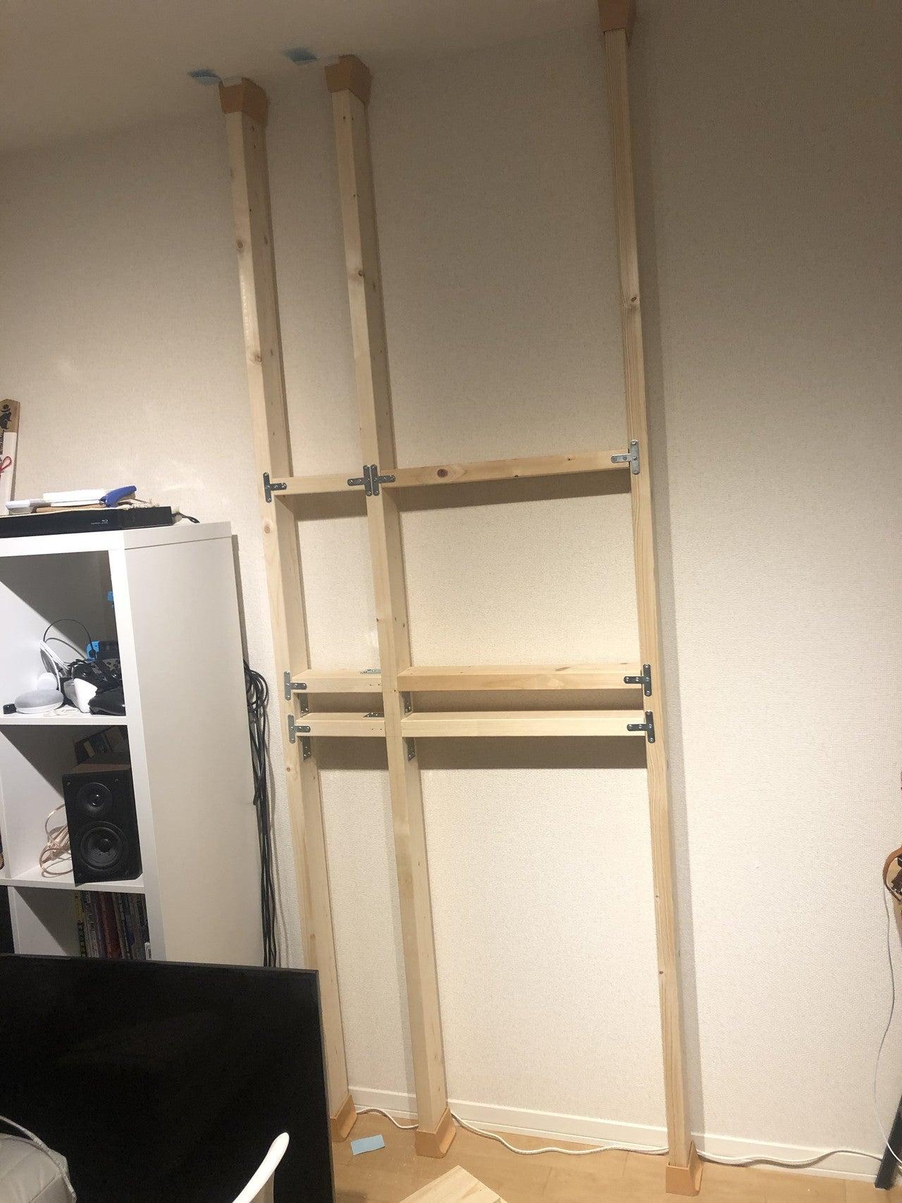壁掛けテレビをdiyしてqolを上げる 作成編 Yusuke Note