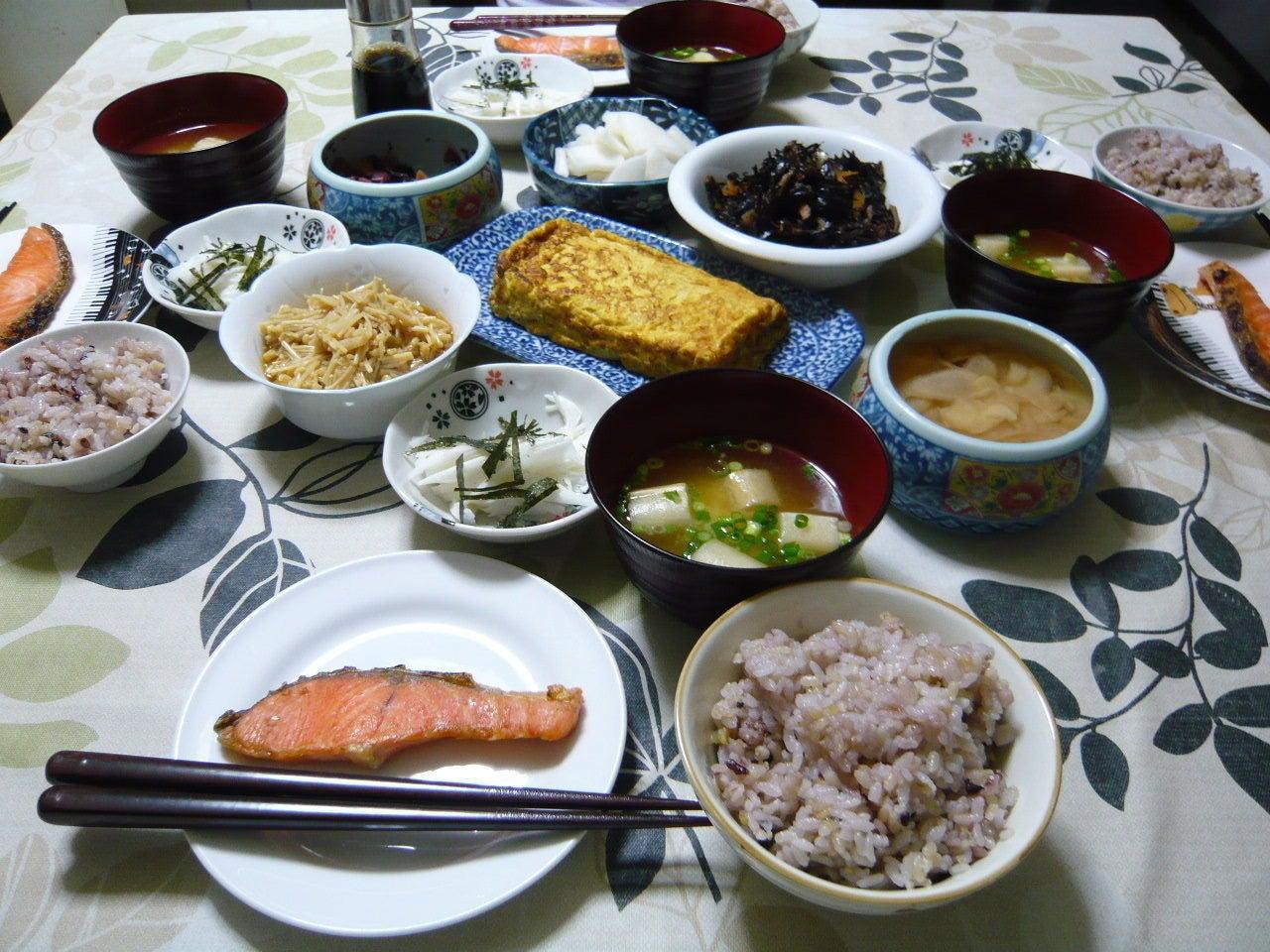 の 和食 御飯 今日 晩