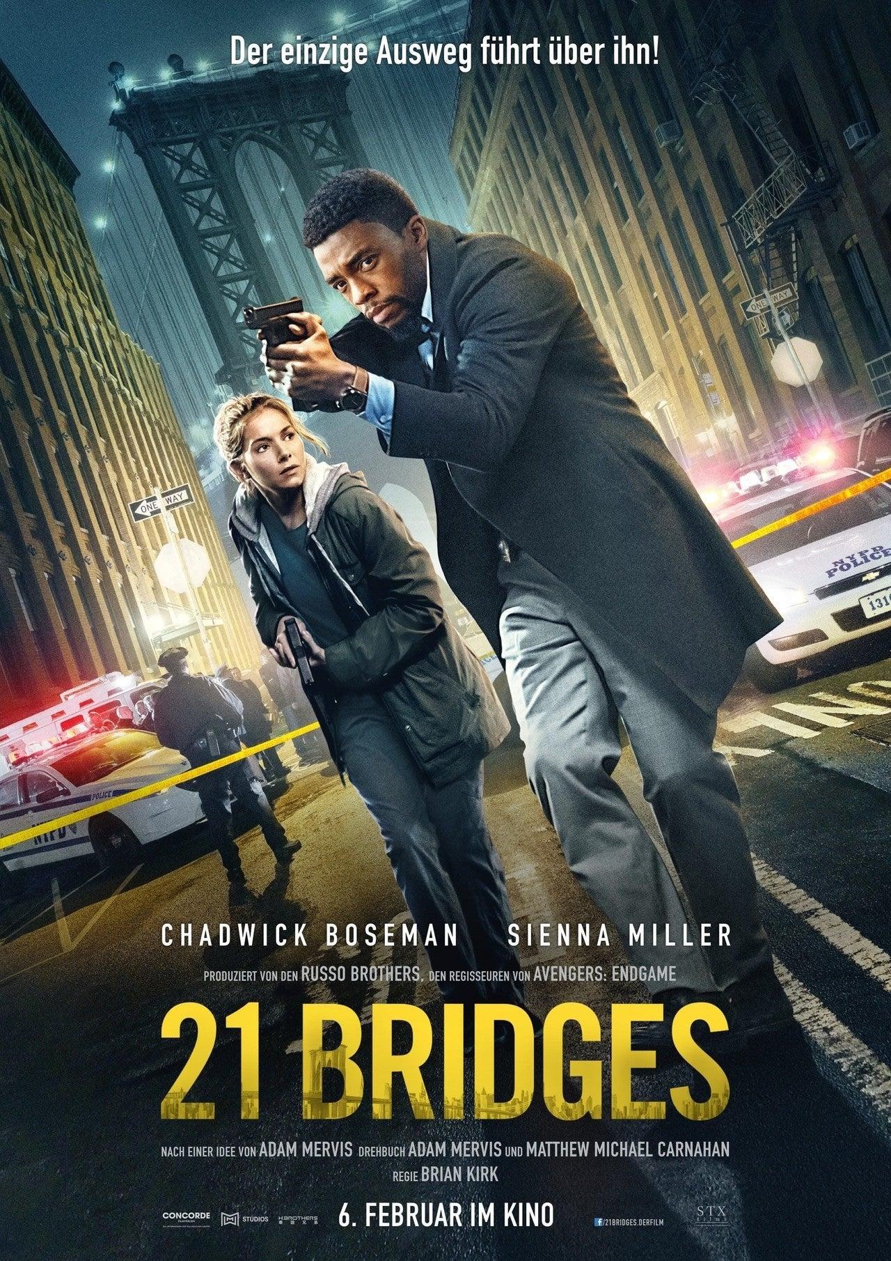 21 BRIDGES / 21ブリッジズ|eigadays|note