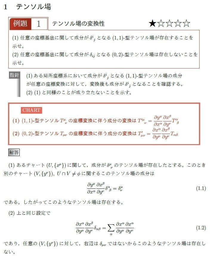 チャート式風 リーマン幾何学演習 Submersion note