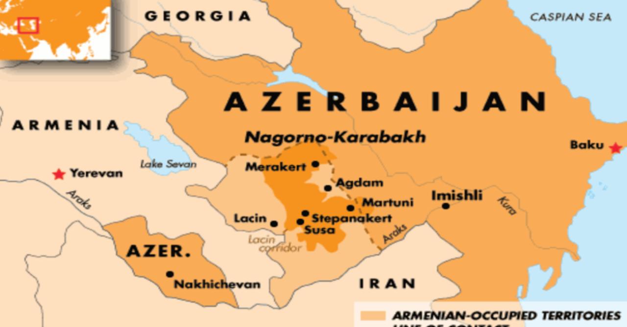 と アゼルバイジャン アルメニア