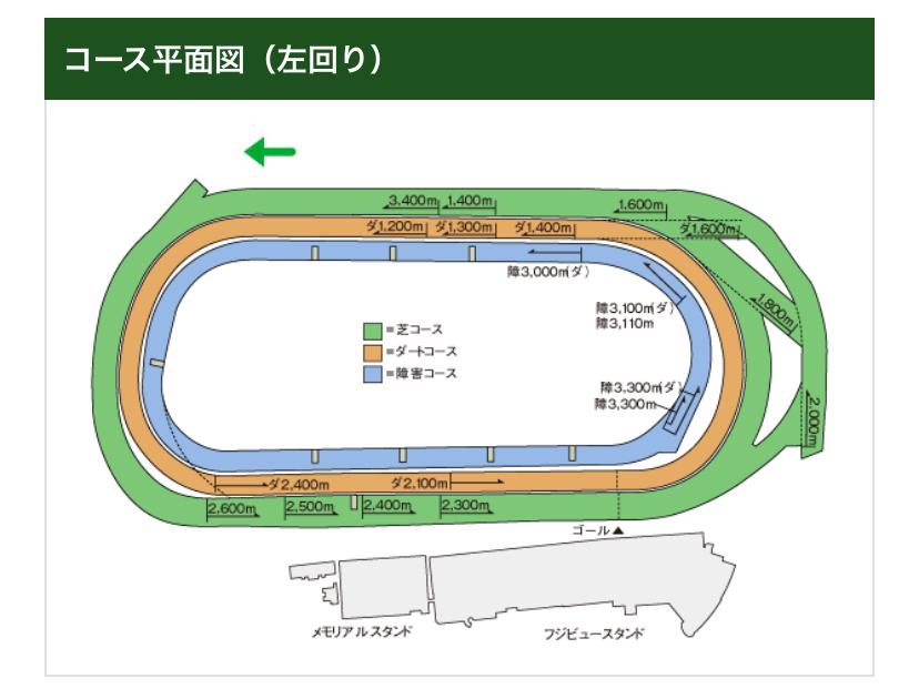 1600m 東京 ダート