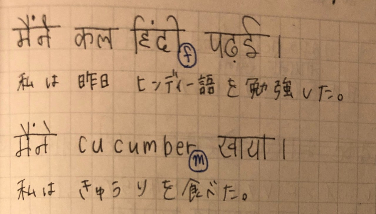 ヒンディー語のシローレカー