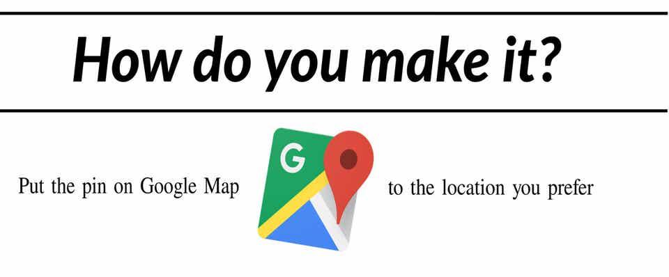 Google Mapで好きな場所にピンを置く方法|Burari|note