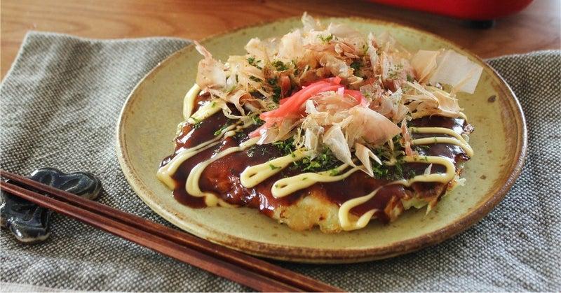 ホット プレート 広島 風 作り方 お好み焼き