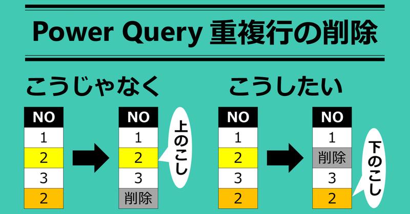 Excel PowerQuery】「重複の削除」で最後の行を残す方法|EXCELドカタ ...
