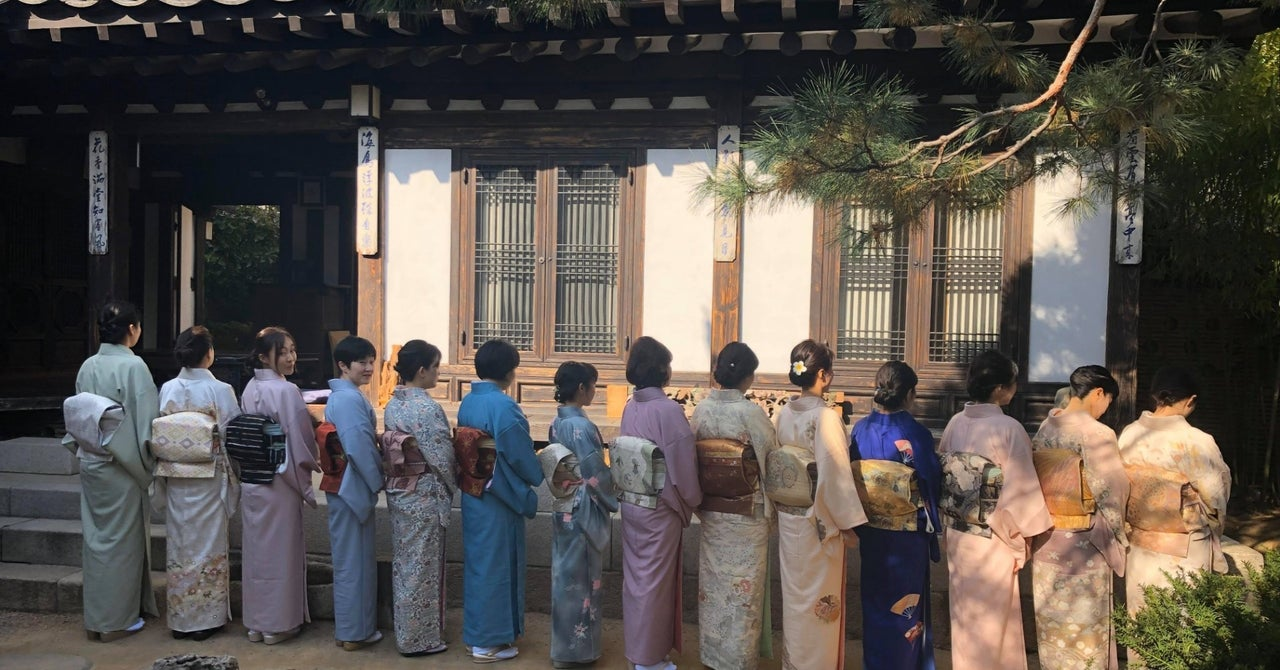 「祖母と母の背中を見つめて」 きものコンサルタント 千華子さん Yumi Morikawa note