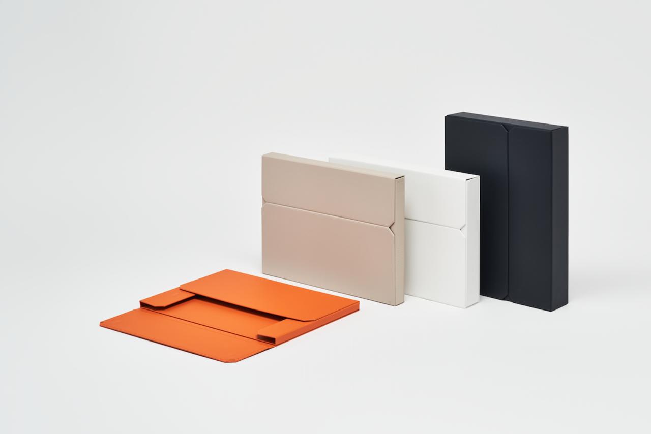開閉の構造まで美しいミニマルな貼箱 『一新堂 ドキュメントケース』の話