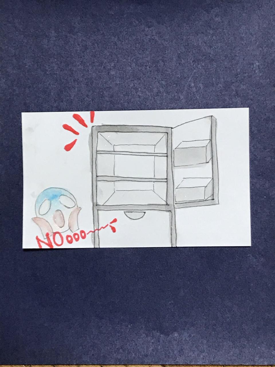 電 ない 冷蔵庫 気がつか