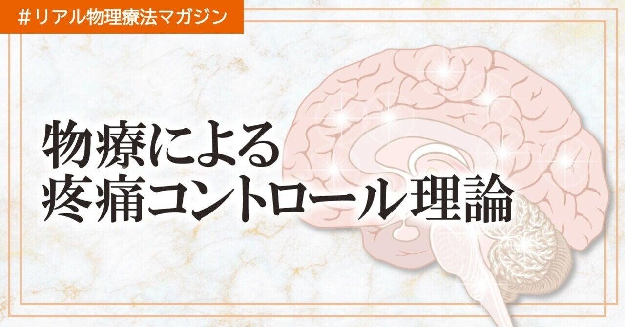 物療による効果〜疼痛コントロール編〜 髙原佑輔 物療マニアで学生 ...