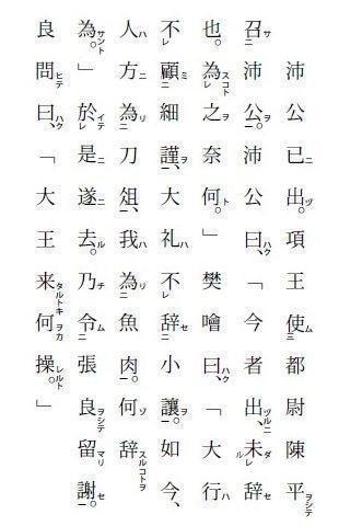 鴻 門 之 会 現代 語 訳