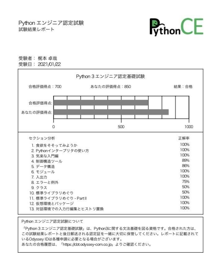 エンジニア 試験 python3 認定 基礎 「Python 3