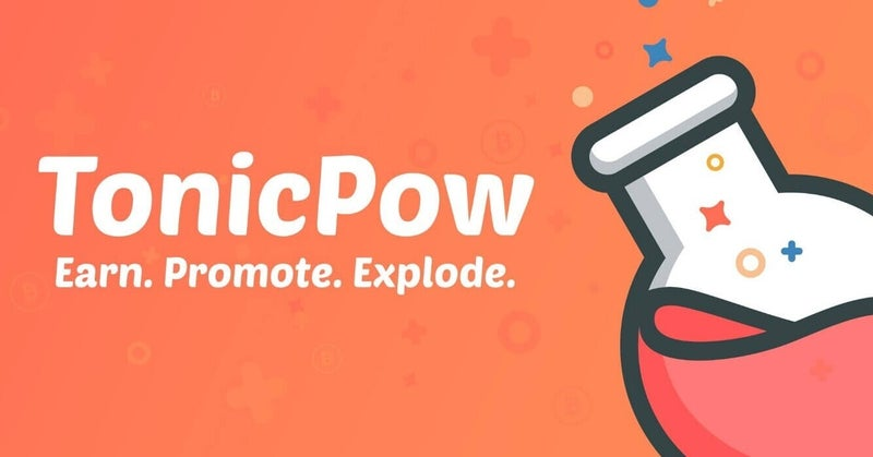 TonicPow:ピアツーピアの広告プラットフォーム