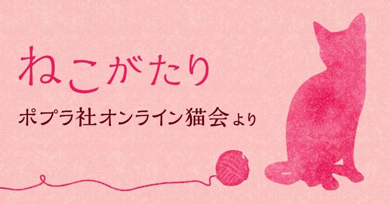 あなたの推しの猫本、教えて! ブックトーク@ポプラ社オンライン猫会