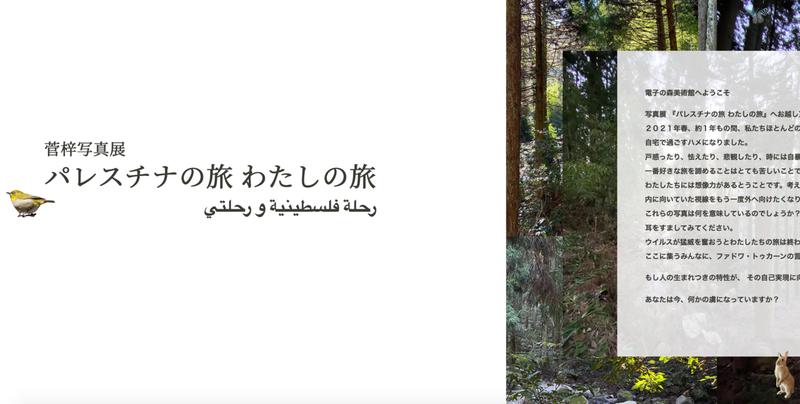 電子の森美術館へようこそ!オンライン写真展開催中