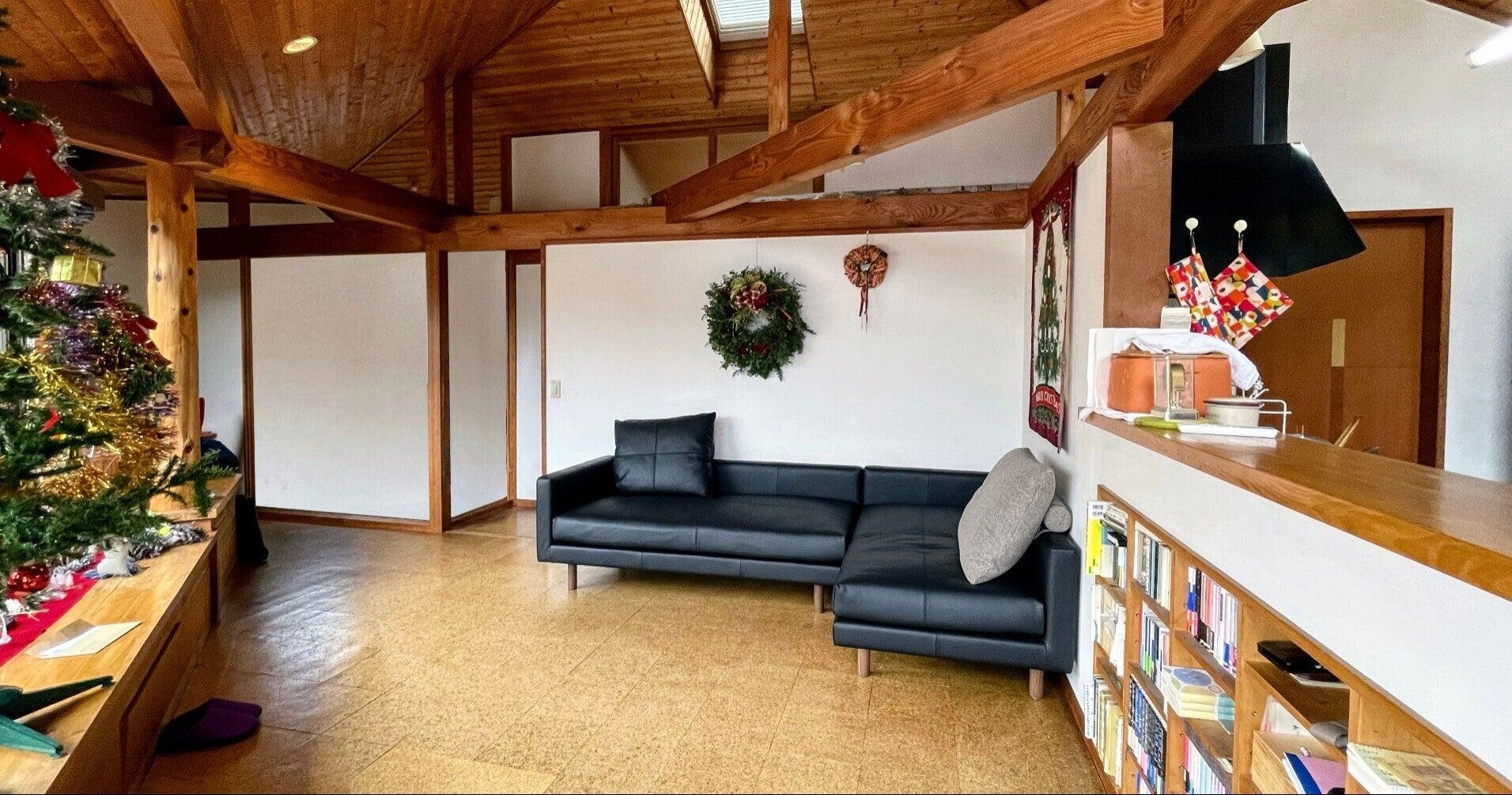 ソファの適正なサイズは、部屋の容積のバランスも見て決める