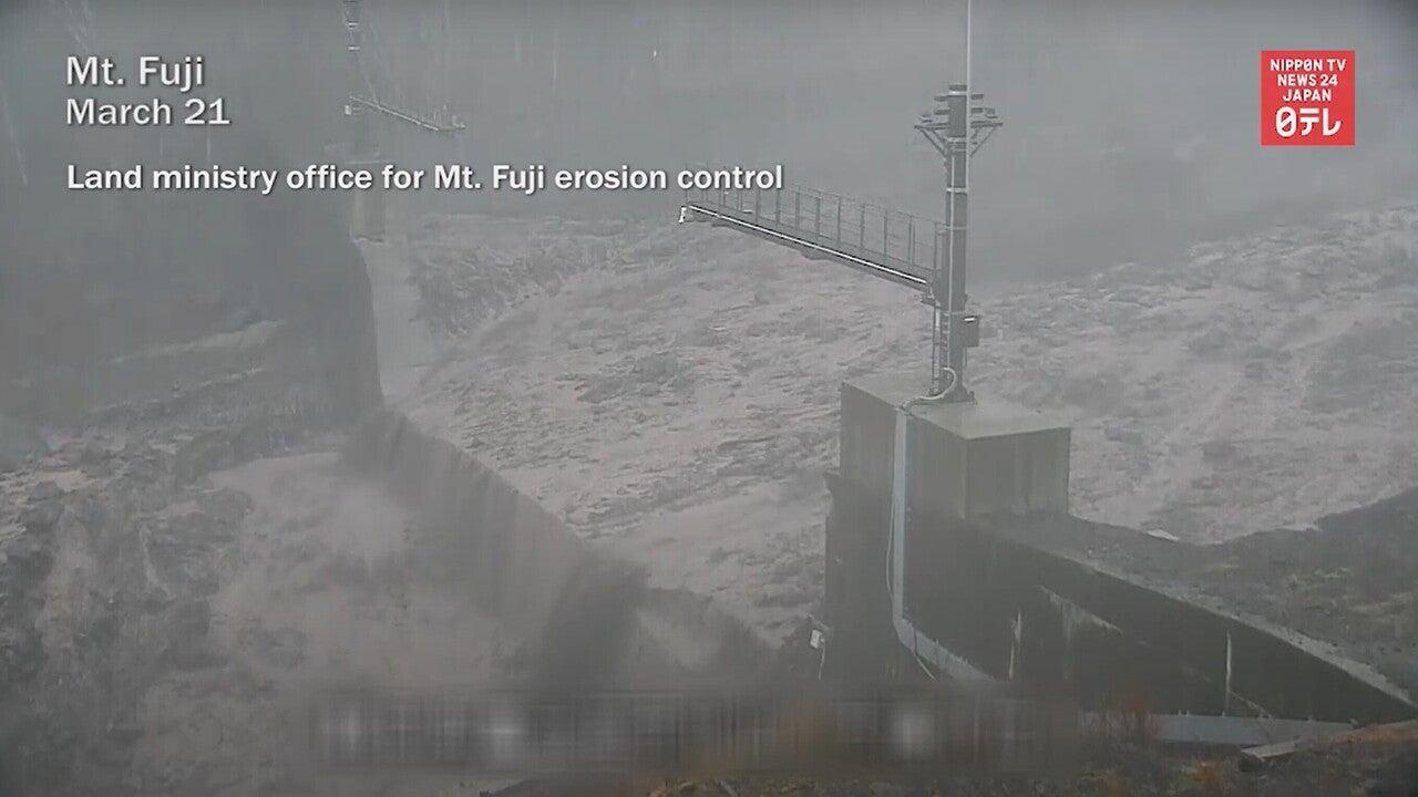 210326 富士山 スラッシュ雪崩