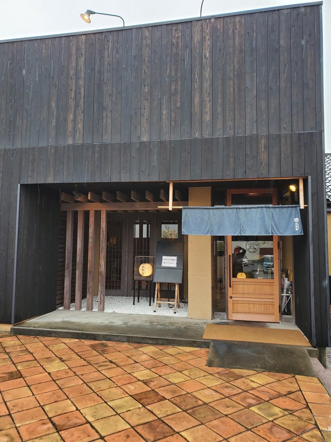 自家製蕎麦武野屋中庄店 外観