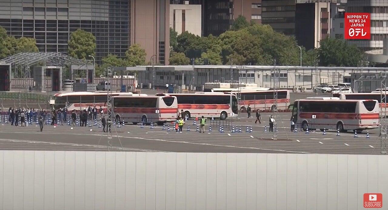 210424 東京五輪 バス輸送テスト