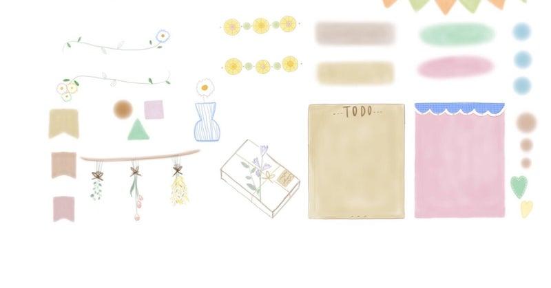 素材 ネップリ mihoのプリント素材