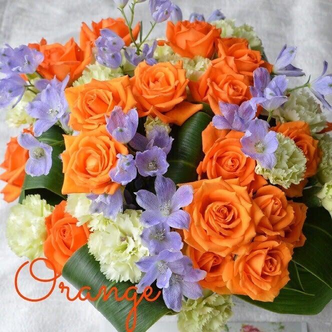 一緒に作るワクワクの花贈り