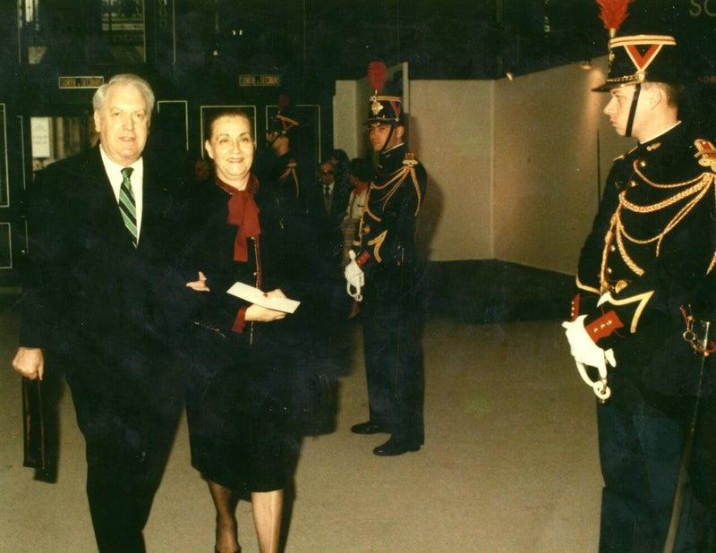 1987 厚生大臣 ロベール・パンドロール夫人 サローン・ドートンヌ グランパレ