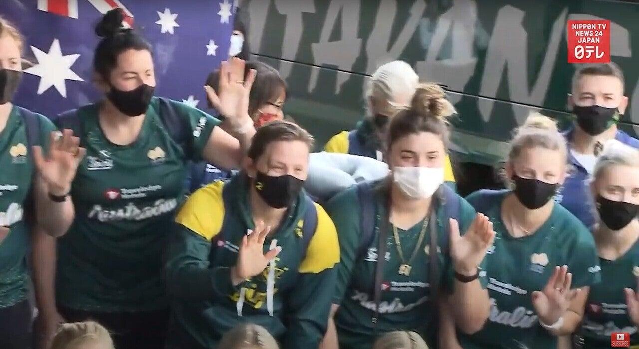 210602 オーストラリア女子ソフトボール来日