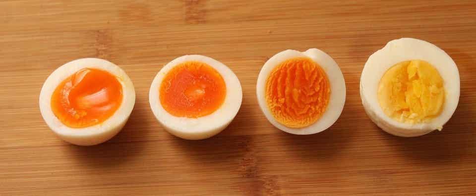ゆで 卵 作り方