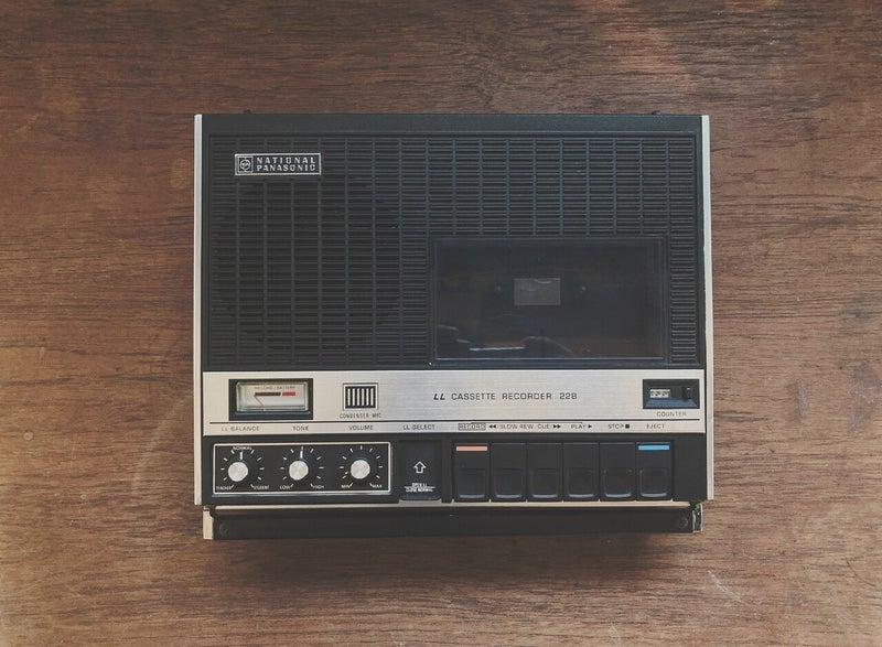 言霊が残したカセットテープ。