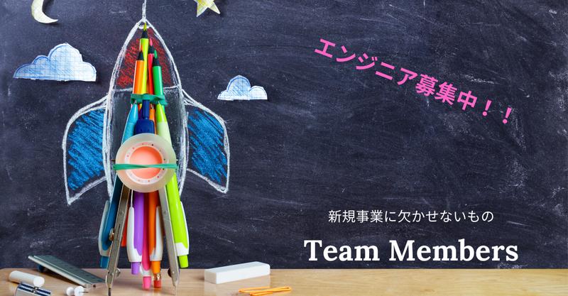 【事業立ち上げに欠かせないもの】チームメンバーをご紹介!