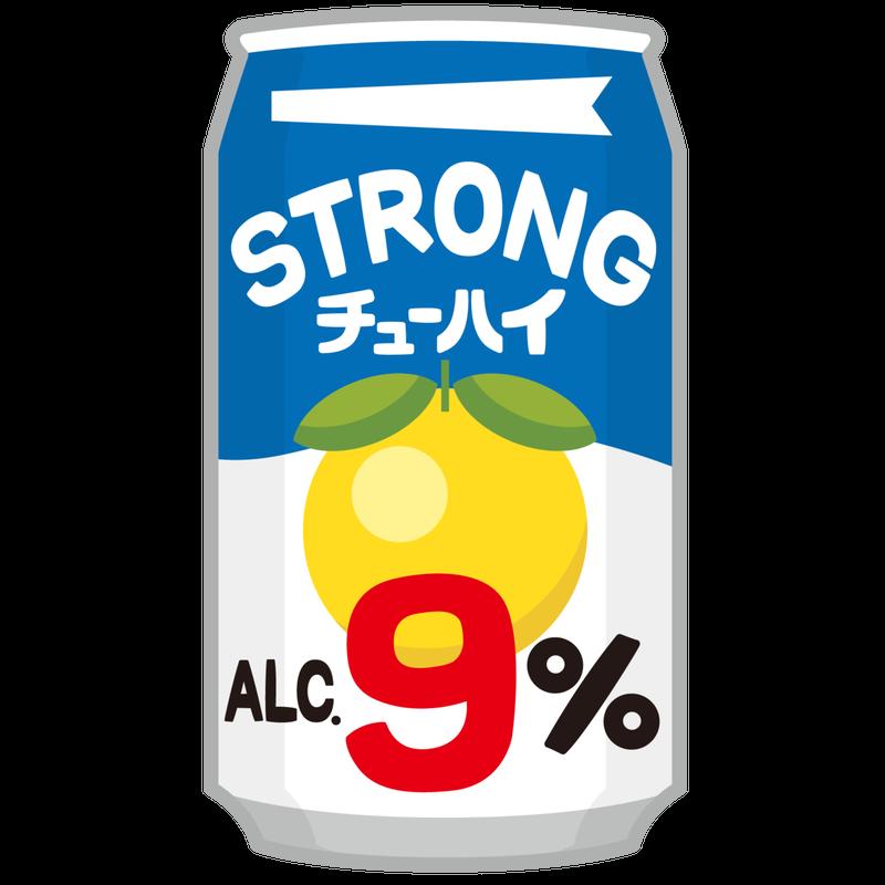 ストロング系酎ハイ