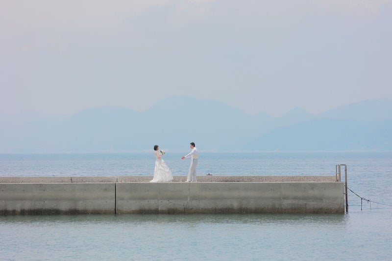 16瀬戸田サンセットビーチ フォトウェディング