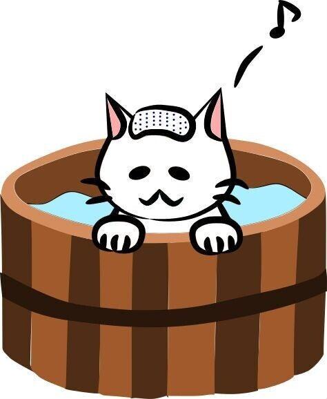 猫 ねこ 温泉