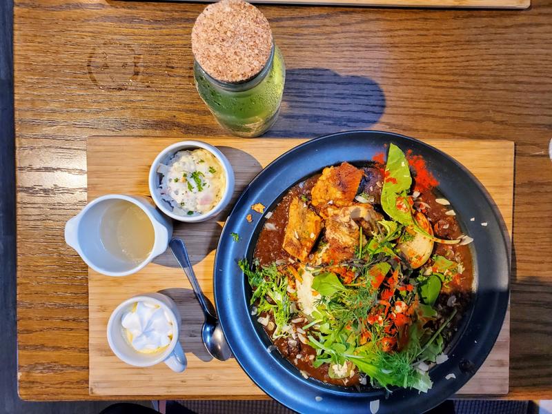 福山『BLUGRE CAFE 』(ブルグリカフェ) カレー