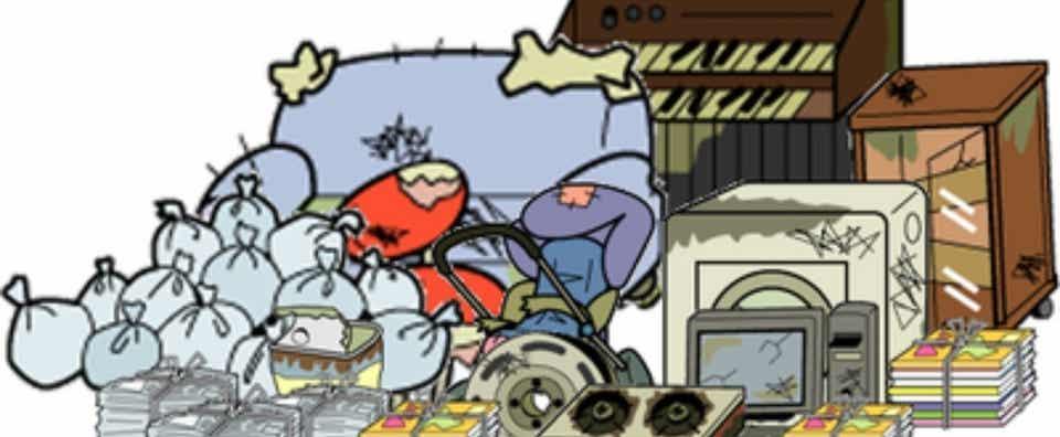 ゴミ 屋敷 病気