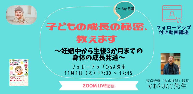 かわべ先生フォローアップ付き動画講座