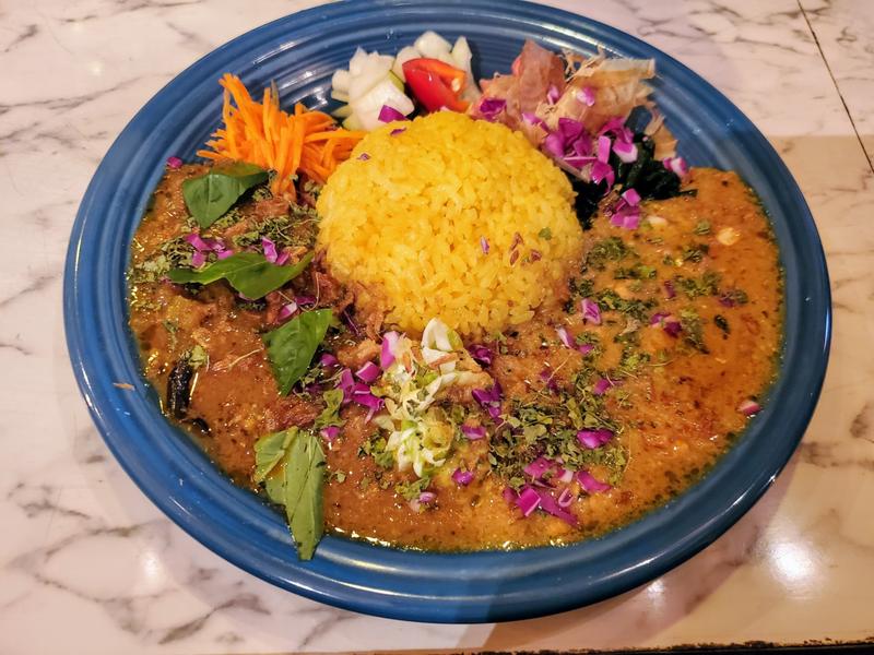 『旧水曜カレー (curry curry curry)』 福山 メニュー
