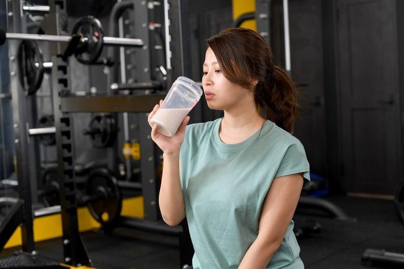 トレーニング プロテイン 女性