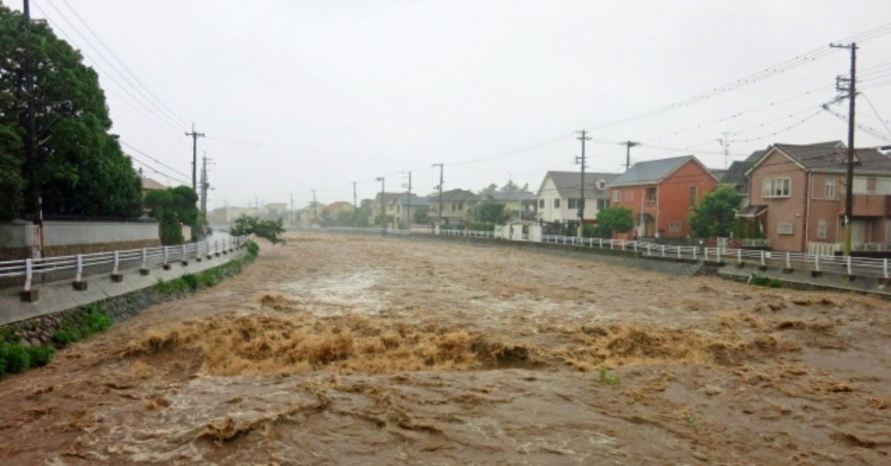 豪雨フリー画像2