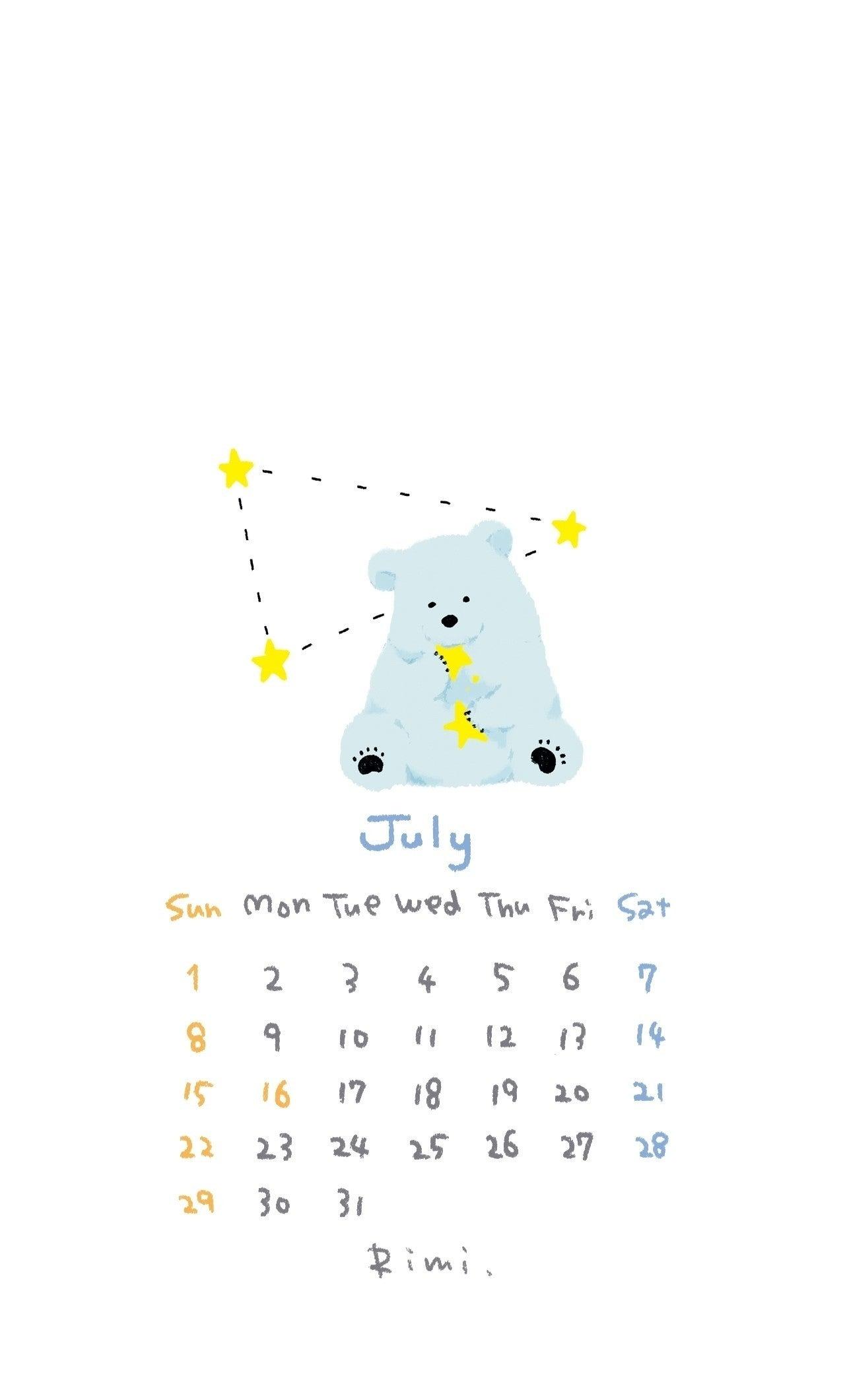 カレンダー 壁紙 Iphone スマートフォン用 Rimi ポートフォリオ用 Note